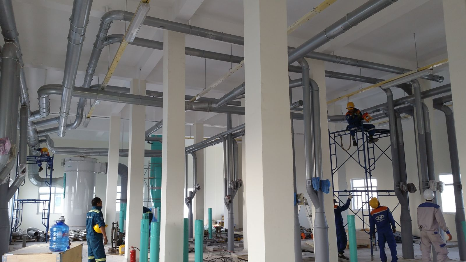 installation of ventilation systems at vfm